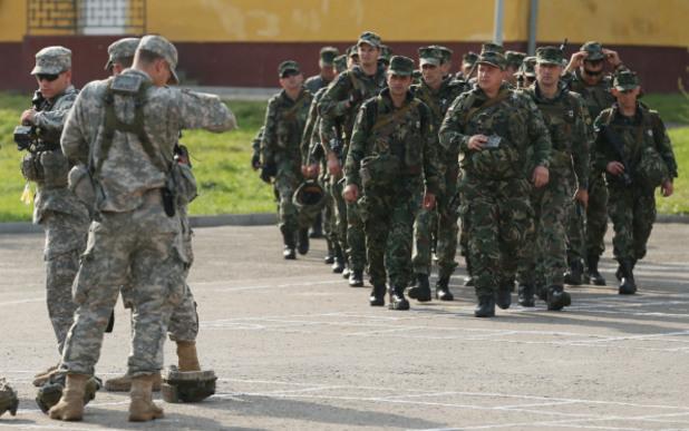 български военни