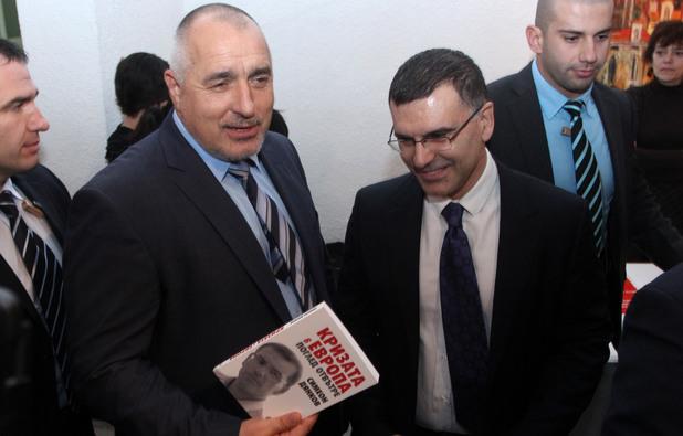 """Бившият финансов министър Симеон Дянков представя днес, 3 февруари, своята книга """"Кризата в Европа. Поглед отвътре""""."""