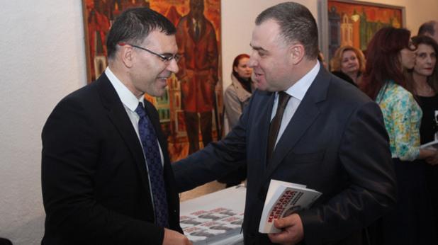 Симеон Дянков и Мирослав Найденов