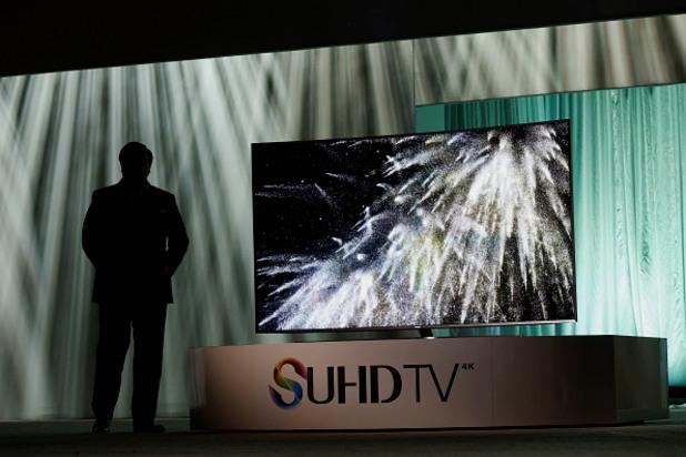 samsung представят новия си телевизор на технологичното изложение в лас вегас