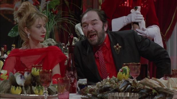 """Майкъл Гамбон в ролята на Албърт Спика,  """"Готвачът, крадецът, неговата съпруга и нейният любовник"""""""