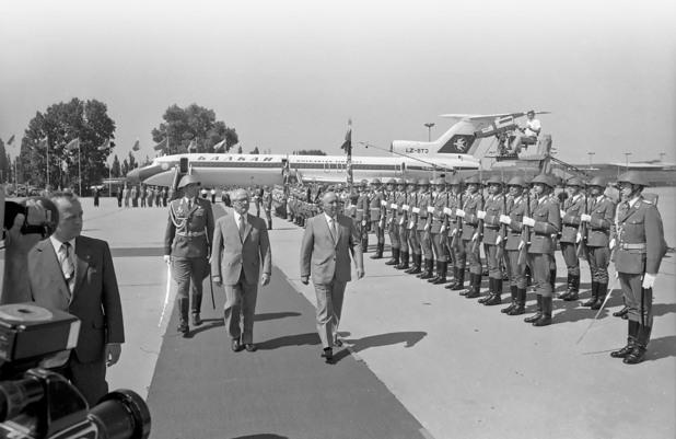 Живков отново на посещение в ГДР