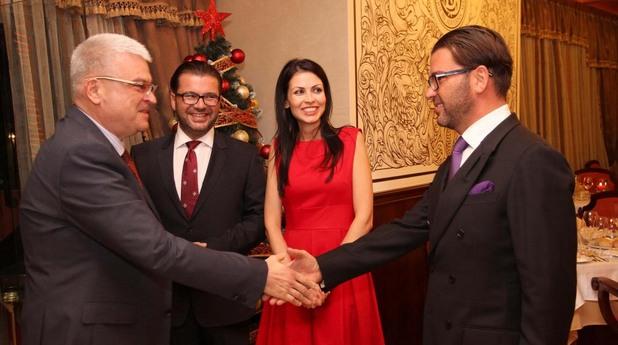 Братята Невен и Ангел Енчеви - домакини на първия Коледен бал на успелите в Пловдив
