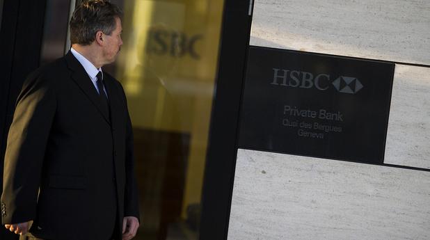 Швейцарската полиция влезе в HSBC