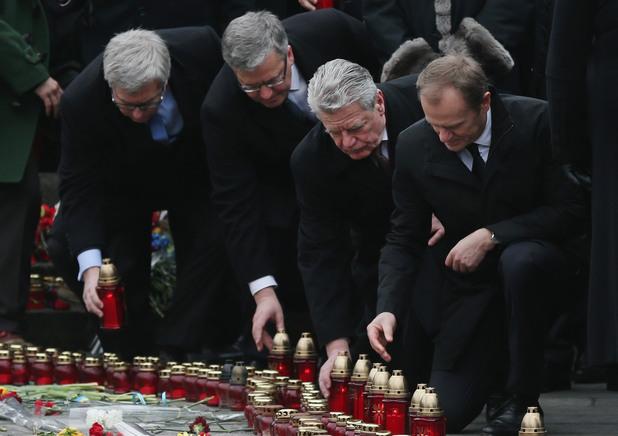 Бронислав Коморовски, Йоахим Гаук, Доналд Туск, Виктор Янукович