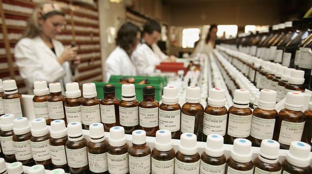 Хомеопатия, лекарствени продукти