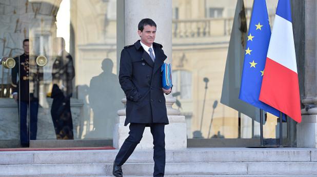 министър-председателят на франция манюел валс