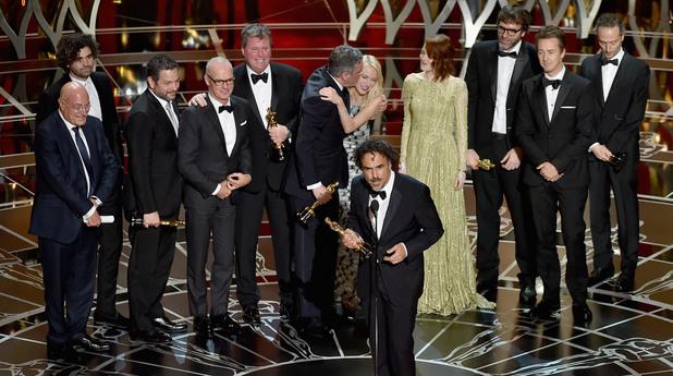 """Най-добър филм стана филмът """"Бърдмен"""" на Алехандро Гонзалес Иняриту."""