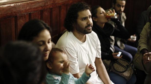 Аля Абдел Фатах, активист за демокрация в Египет