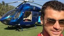 григор и хеликоптер