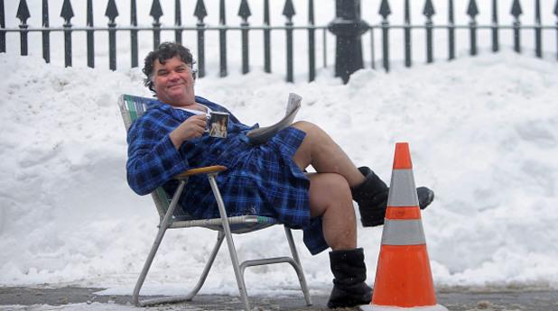 Как американците се справят със снега
