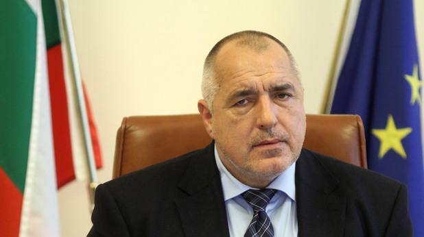 Бойко Борисов преди заседание на Министерски съвет днес, 27 февруари.