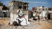 Banksy в Палестина