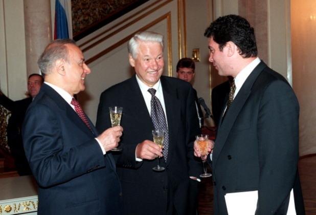 борис елцин и борис немцов през 90-те години