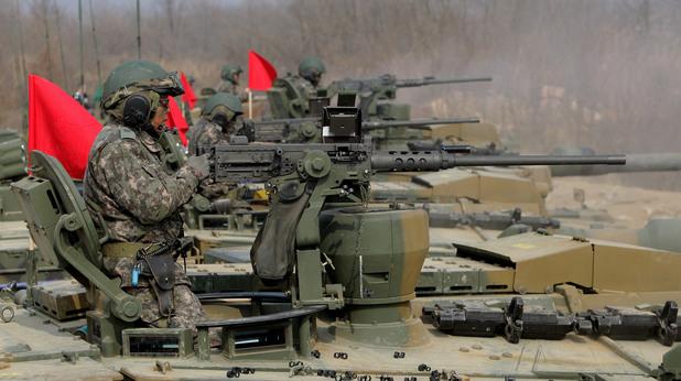 Военно учение на армията на Южна Корея