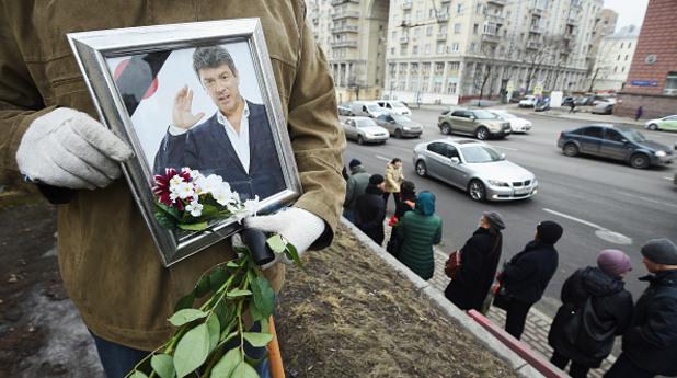 Погребението на Немцов
