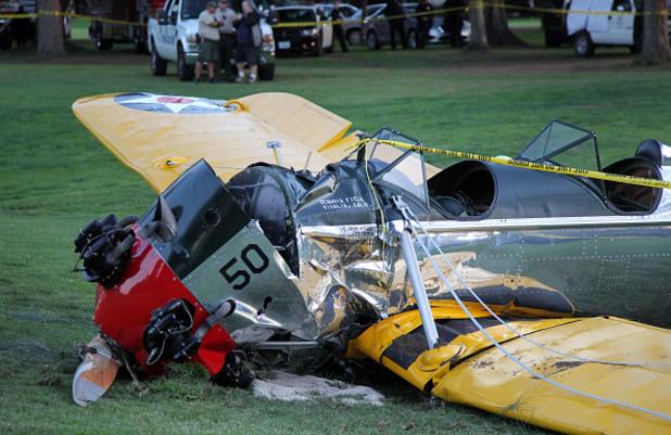 Харисън Форд преживя самолетна катастрофа