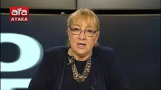 """Магдалена Ташева води предаването си """"В Окото на бурята"""" по Алфа ТВ"""