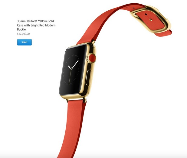 Apple Watch за 17 000 долара