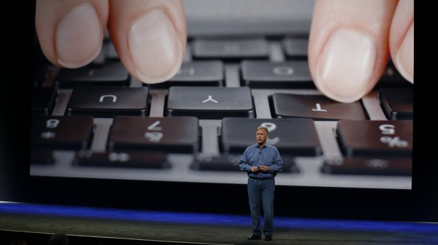 Новата клавиатура на Macbook