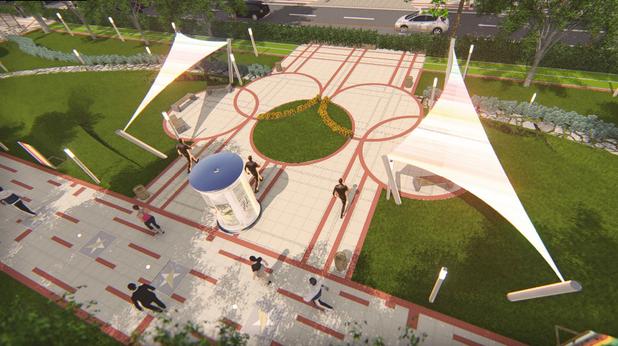 зона 1, софия център, площад лека атлетика и олимпийски игри