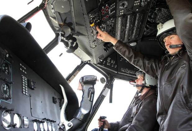 руски военен хеликоптер ми-17