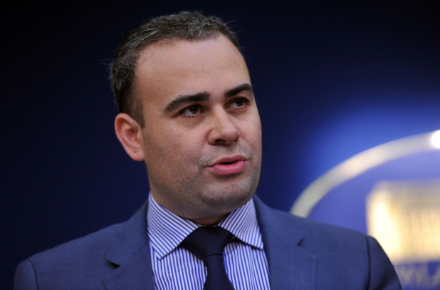 дариус вълков, министър на финансите на румъния, е обвинен в корупция