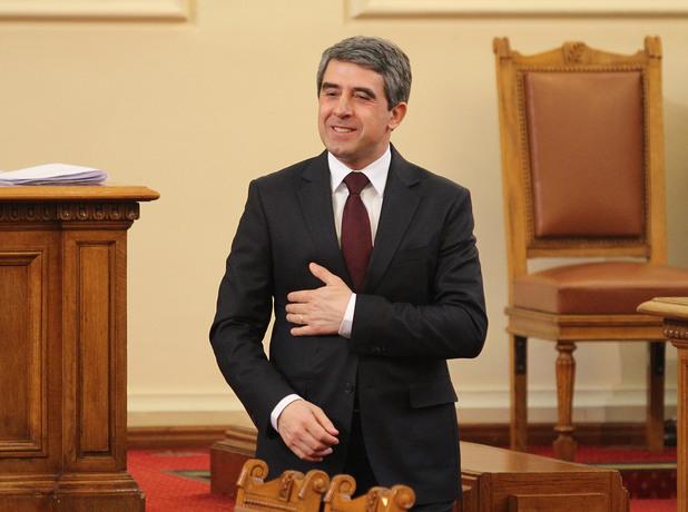 Президентът Росен Плевнелиев направи обръщение към Народното събрание