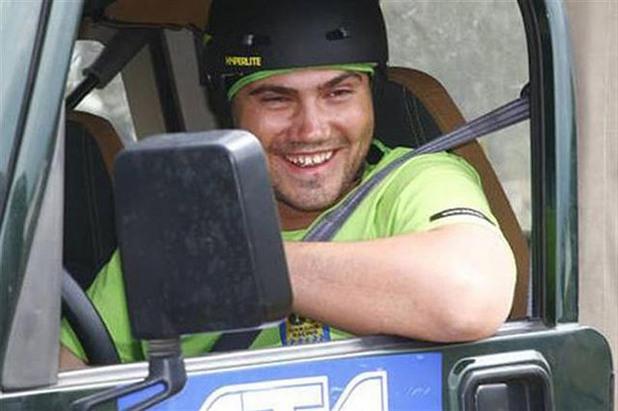 виктор янукович-младши по време на състезание