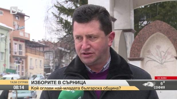 мустафа аликанов, кандидат за кмет на сърница от герб