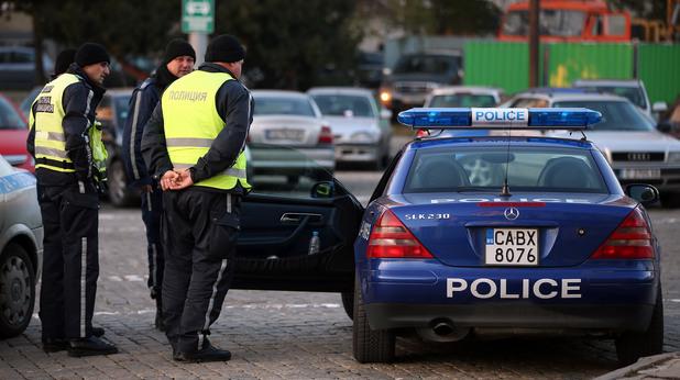 Полицаи в България