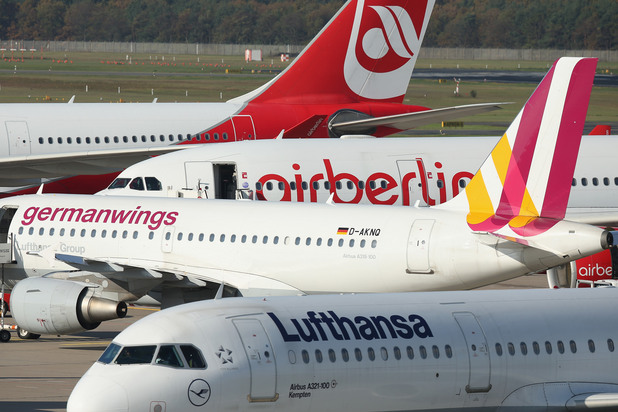germanwings и lufthansa