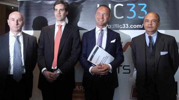 ръководството на инвестиционната компания lic33 - Бертран Кавалие, Брус Бауър, Пиер Луврие, Жан Жакобе
