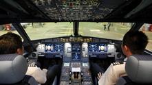 пилотската кабина на airbus a320