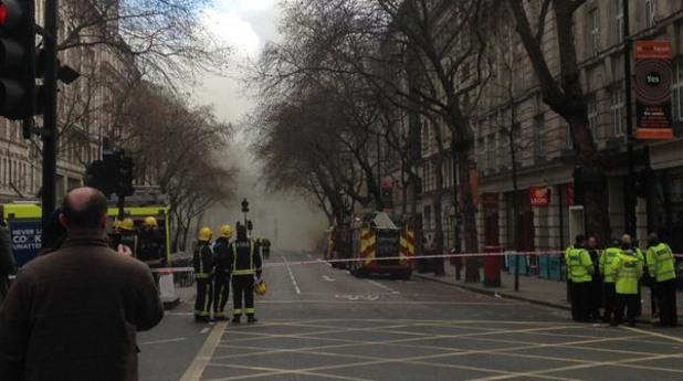 Пожар в Лондон