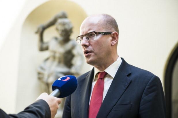 бохуслав соботка, премиер на чехия
