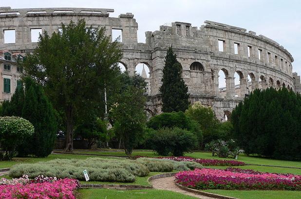 Амфитеатър в Пула, Хърватия