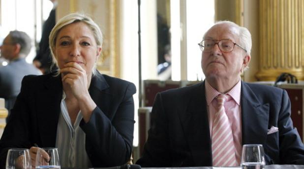 Жан-Мари и Марин льо Пен
