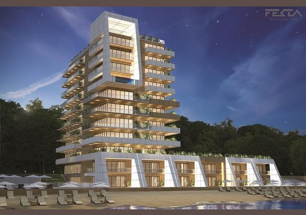 """проектът за реконструкция на """"хотел вероника"""" в слънчев ден"""