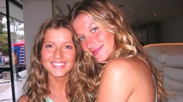 Топ манекенката Жизел Бюндхен също има сестра близначка, за която не знаем много - Патриция