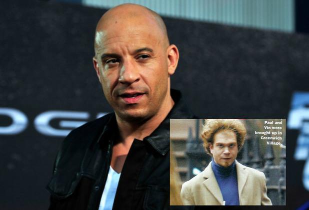 Вин Дизел също има брат близнак - Пол, който работи като монтажист