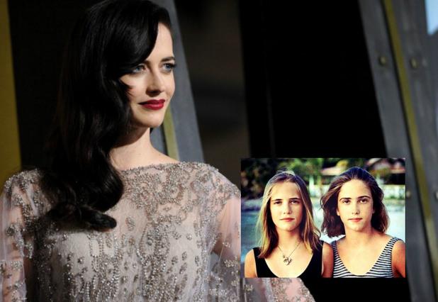"""Актрисата от """"Град на греха"""" Ева Грийн също има близначка - Джой"""