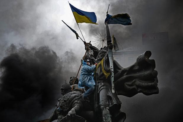 киев по време на протестите на майдана
