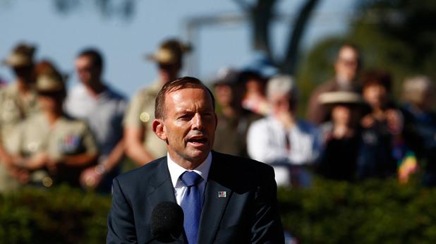 премиерът на австралия тони абът