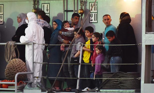 Бежанци на кораб, Лампедуза