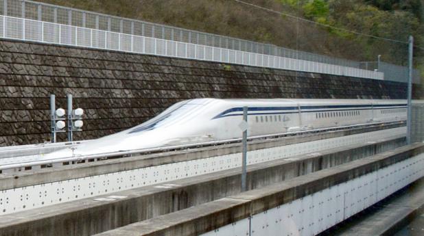Влак на въздушна възглавница, Маглев