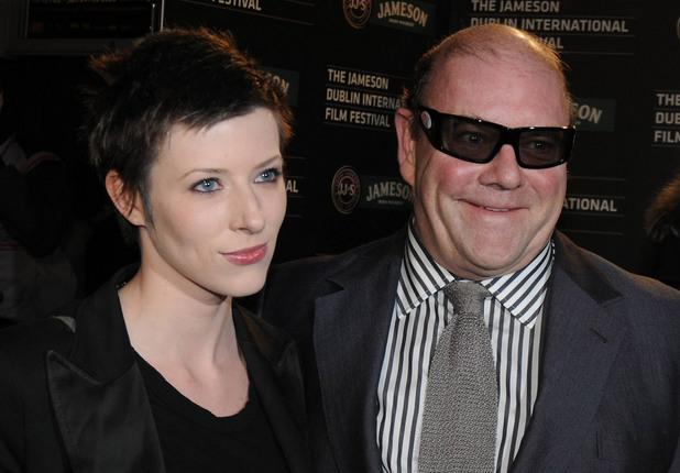 Пол Макгинес с дъщеря си Александра