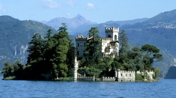 Остров Сан Паоло, езерото Изео, Италия