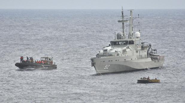Трафик на хора в Средиземно море
