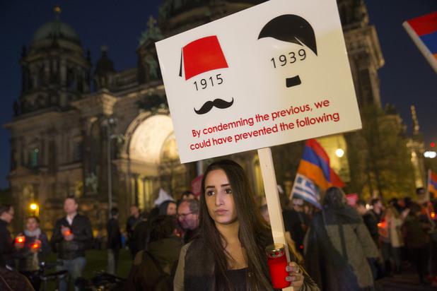 шествие в памет на арменския геноцид